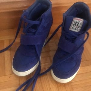 Authentic a.s.h. wedge sneakers